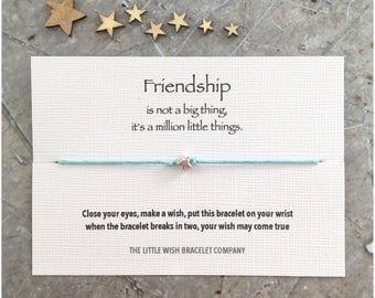 FRIENDS Wish Bracelet Friendship, Best Friends Add a Name & Custom options available
