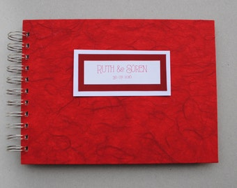 Guest book, wedding, baptism, birthday