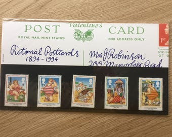 1994 Set of Royal Mail Mint Stamps - Pictorial Postcards