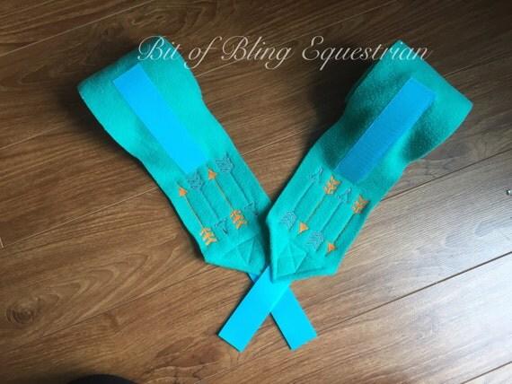 4 Arrow Polo Wraps - custom colour