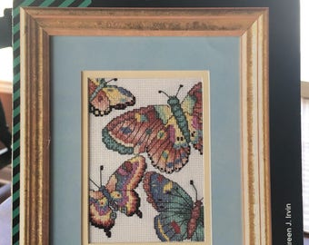 Flutterby Cross Stitch Pattern
