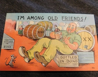 Vintage Comic I'm Among Old Friends! #486