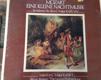 Mozart- Eine Kleine Nachtmusik - Symphony No 36 in Cmajor K425 Linz - vinyl record
