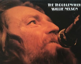 Willie Nelson - The Troublemaker - vinyl record