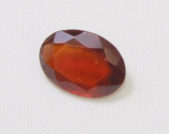 4.75 carat Natural Hassonite garnet faceted cut loose gemstone size 12.65 mm x 9 mm x 4.70 mm  approx. 0166