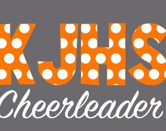 CUSTOM DECAL for KJHS Cheer!