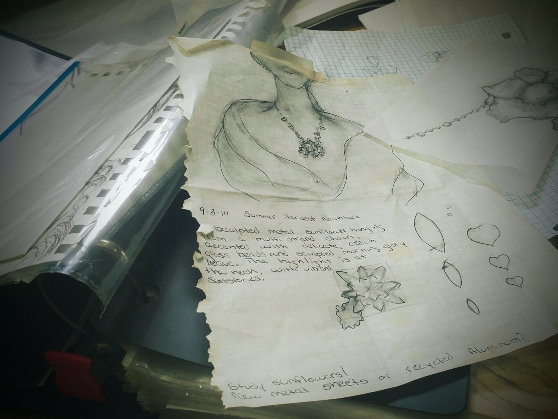 Kate Jones sketches