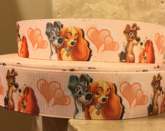 5 YDS Lady and the Tramp Ribbon