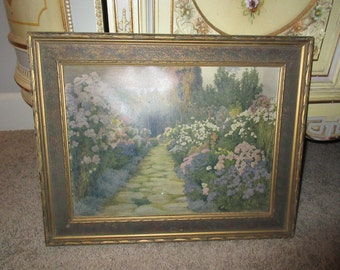 ANTIQUE PRINT WALL Hanging by Beatrice Parsons