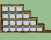 18 Tin Spice Rack MBM Replica