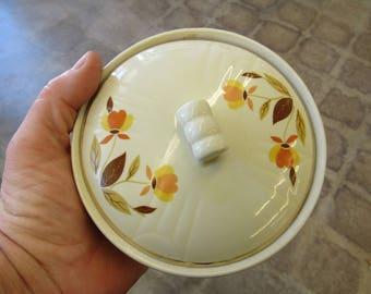 Vintage Hall Jewel Tea Bowl and Lid