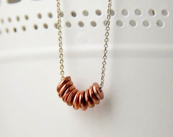 Little Nuggets Necklace - Donut/Circle