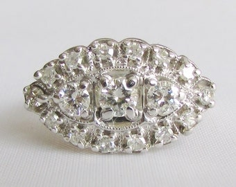 Princess Ring .80 CTW, SI Clarity, G-H Color - Two Tone 14K White and Yellow Gold - GIA Graduate Appraisal Included, 1,830.00 Usd!