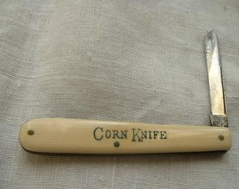 Vintage folding corn knife