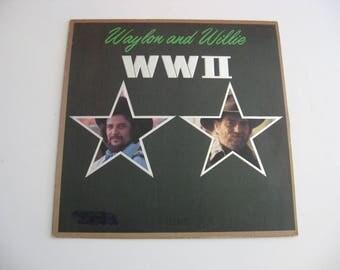 Waylon Jennings & Willie Nelson - WW II - Circa 1982