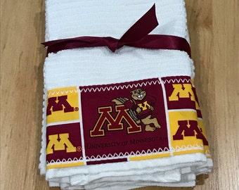 University of Minnesota Hand Towels