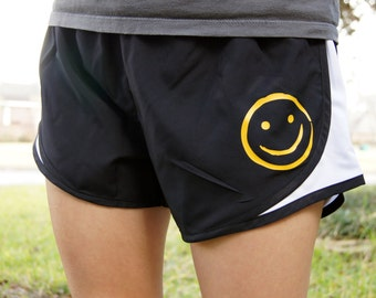 Sherlock Smiley Face Shorts BBC
