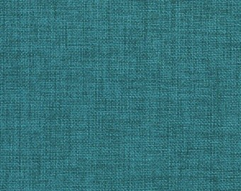 Teal Contemporary Textured Solid Indoor Outdoor Upholstery Fabric By The Yard | Pattern # A243