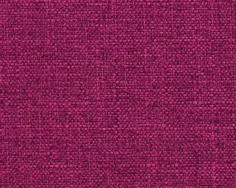 Raspberry Magenta Woven Tweed Contemporary Crypton Home Upholstery Fabric By The Yard | Pattern # E901