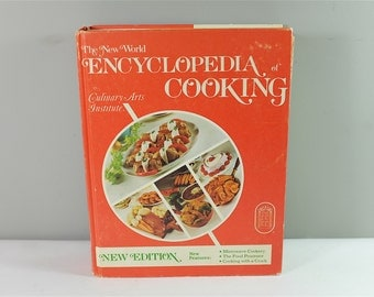 Vintage Cook Book: Encyclopedia of Cooking  by Culinary Art Institute copyright 1979 - Vintage seventies Cook Book