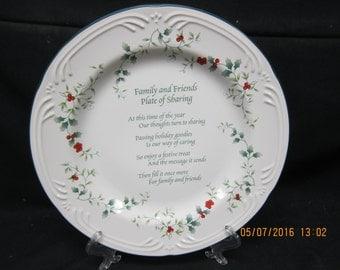 Pfaltzgraff White Winterberry Platter w/box