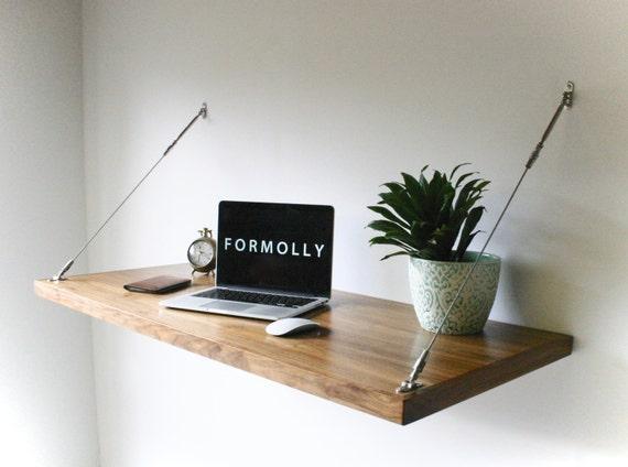 Industrial Desk Hanging Wall Desk