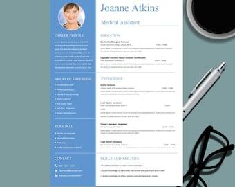 medical resume template for ms word nurse resume design professional cv template design - Professional Medical Resume
