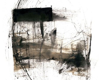 Abstract expressionism minimalist design