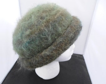 Fuzzy Felted Hat