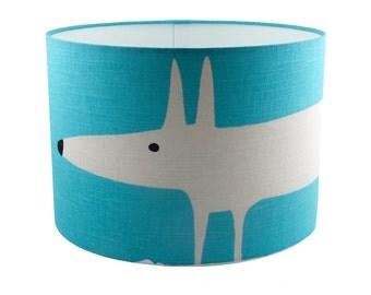 Mr Fox Marine Fabric Lampshade NEW COLOUR Scion Harlequin Uk/eu/us Pendant (