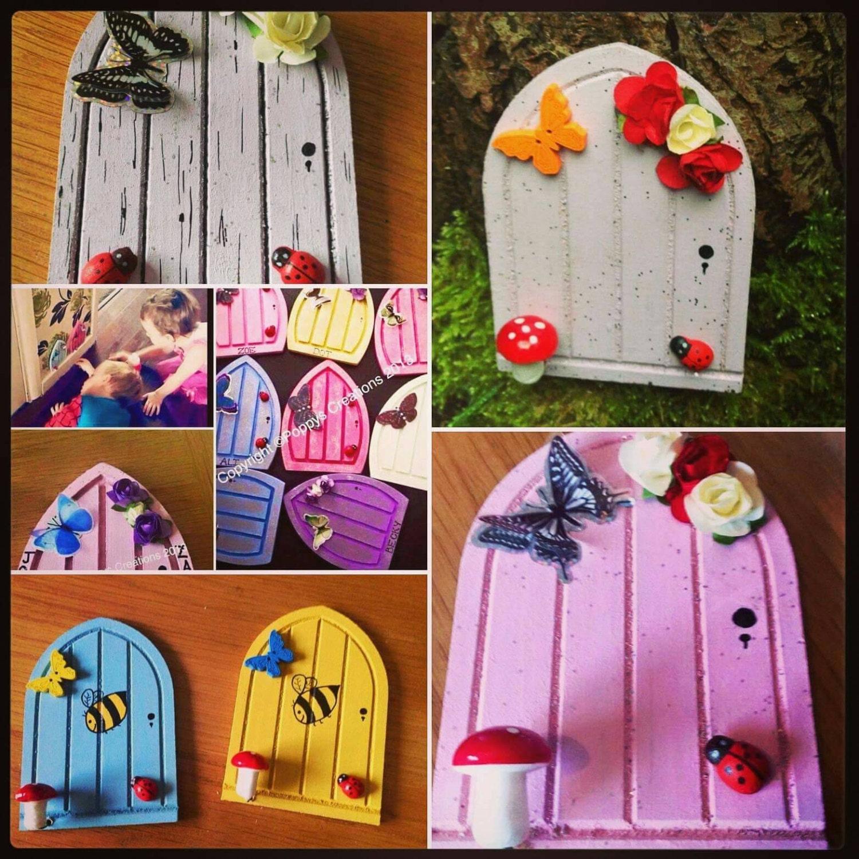 Fairy doors release the magic gift for mum wooden for The magic fairy door