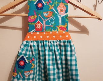Girls Apron - Age 2-3 Years