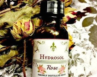 Rose Hydrosol ~ Rose Distillate ~ Rose Water