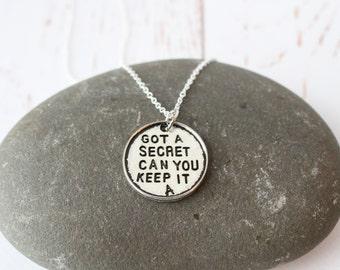Pretty Little Liars Necklace / Best Friends Jewellery/ PLL Pendant necklace
