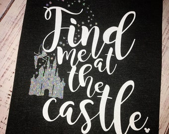 Find me at the Castle Tee