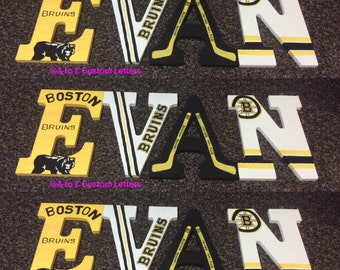 Boston bruins letters