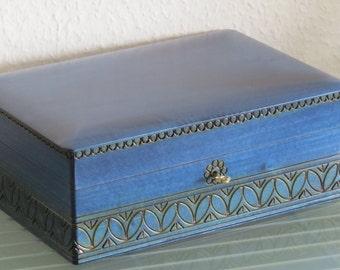 sewing box jewelry box wooden box