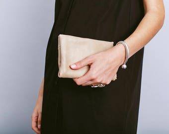 Biege leather wallet,Biege wallet,Money wallet,Small wallet for women