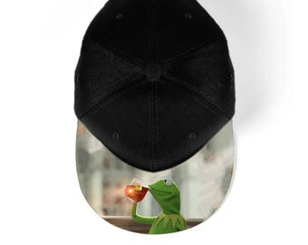 Kermit but thats none of my business snapback hat, baseball hat, cap 7M006A
