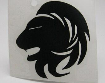 Lion Head Decal/ Sticker