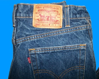 Levis 505 Regular Fit Straight Leg  31 W x 30 L   Made in USA