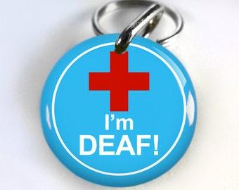 I Am Deaf Collar Etsy