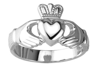 Original Claddagh Ring Sterling Silver