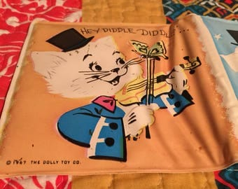 1960's puffy accordion children's book