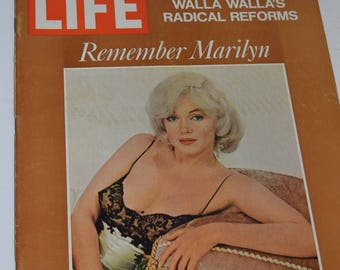 "Vintage September 8, 1972 ""Life"" Magazine - Marilyn Monroe Cover"