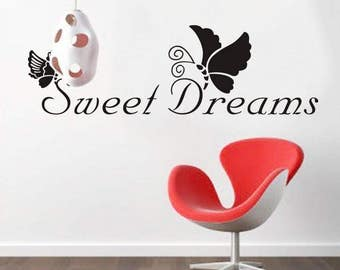 Sweet Dreams Wall Decal  AW8136