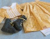 Victorian Dress Set for Rag Doll