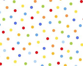 Polka Dots Multi-color 3686-01 by Studio-e Cotton Fabric Yardage