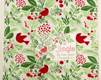 Jingle Layer Cake  - Kate Spain - Moda Layer Cake - Christmas in July - Christmas fabric - IN STOCK