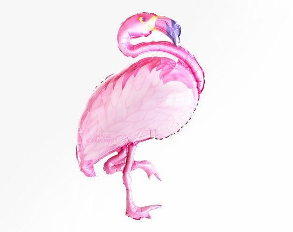 ballon flamant rose soldes helium taille 105 x 51 cm f te. Black Bedroom Furniture Sets. Home Design Ideas